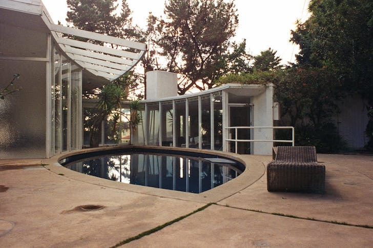 Concannon Residence in Beverly Hills/Los Angeles, designed by John Lautner (Photo: Andrea Kreuzhage)