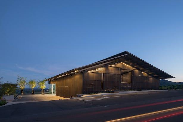 Furioso Vineyards Waechter Architecture Archinect