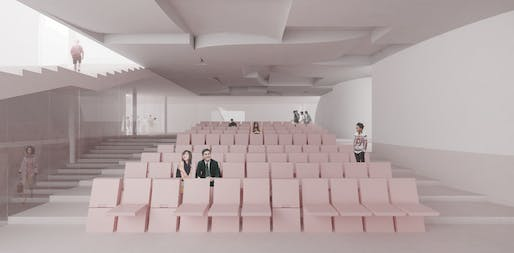 Auditorium. Image courtesy of Hou de Sousa.