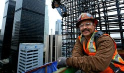 The daring men building LA's New Wilshire Grand tower