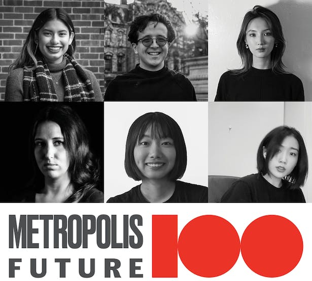 The selected students include Maria Fuentes (MArch'21), Paul McCoy (MArch'21), Hanqing (Amie) Yao (MArch'21), Megan York (MArch'21), Chenyang (Jane) Yu (MArch'21), and Jingyi Zhou (MArch'21).