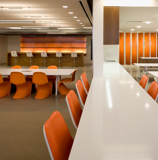 Saatchi & Saatchi office designed by Shubin + Donaldson Architects. Photo: Tom Bonner