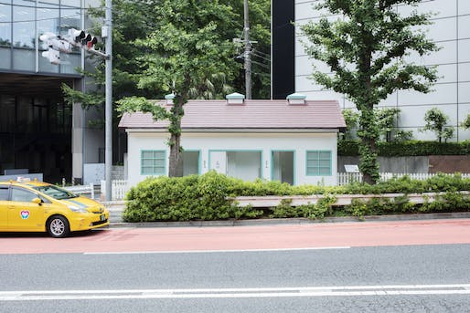 Nigo's public toilet takes the form of a historic home design as part of the Tokyo Toilet project. All Photos: Satoshi Nagare/Courtesy of The Nippon Foundation