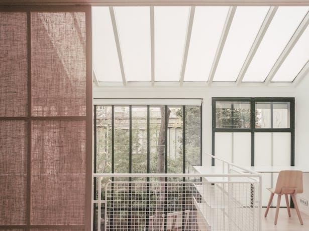 Jean Moulin Atelier-House by Atelier NEA photo | Lorenzo Zandri