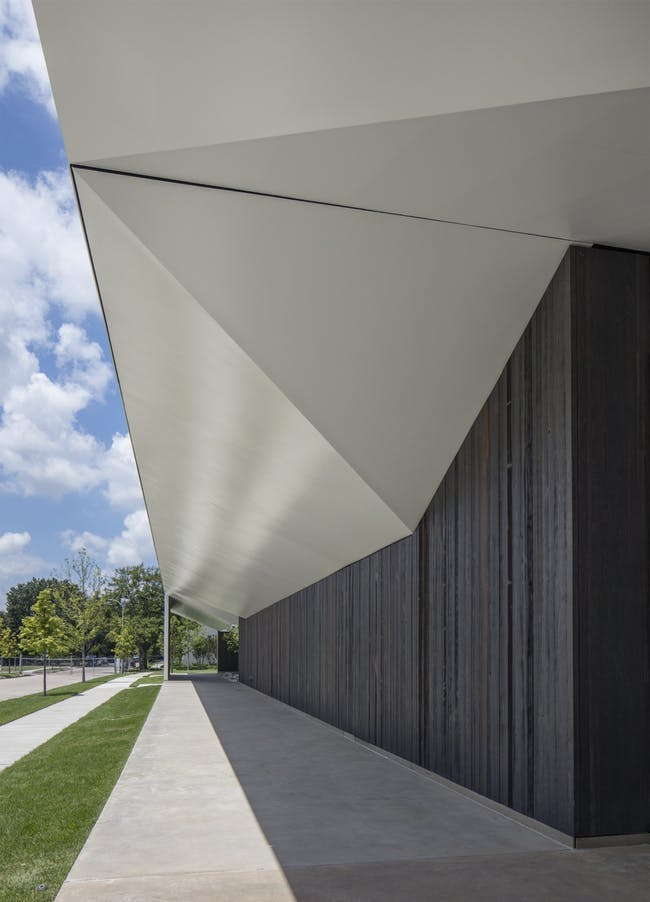South Elevation Angle. Photo: Richard Barnes, courtesy the Menil Collection, Houston.