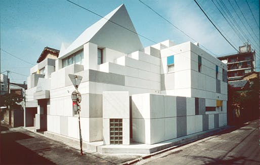 1981 Toy Block House III / Takefumi Aida. Image © Aida - Doi Architects