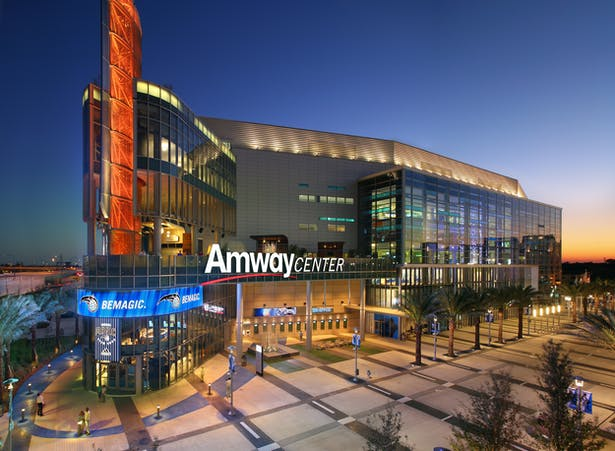 Amway Center Marquee Signage