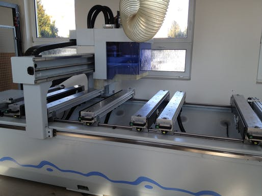 CNC machine at CZU