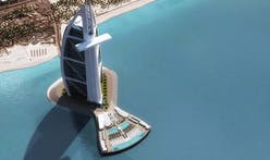 What's new in Dubai: shipping a gigantic floating swimming pool deck over all the way from Finland
