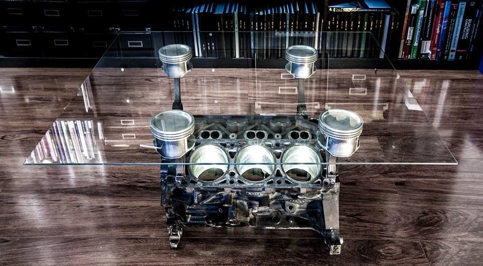 engine block coffee tables