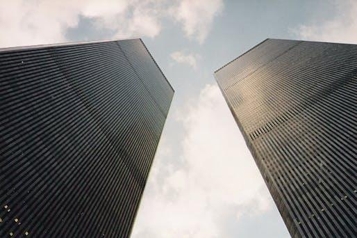 The New York World Trade Center in 1995. Image: Wikimedia Commons user Karl Döringer.