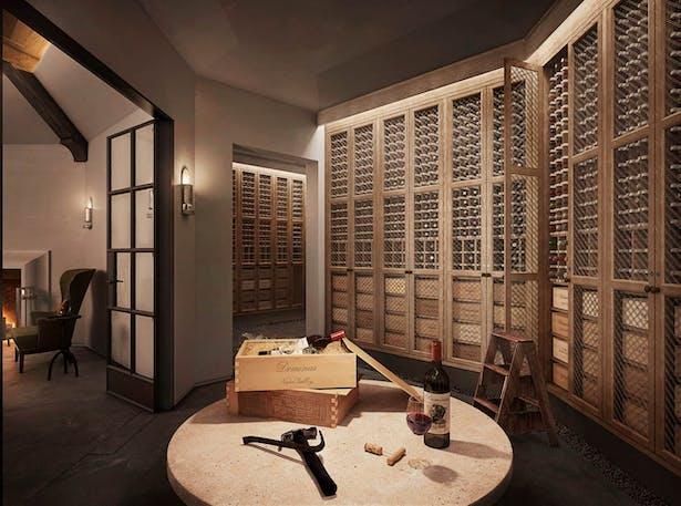 The Wine Cellar tasting room