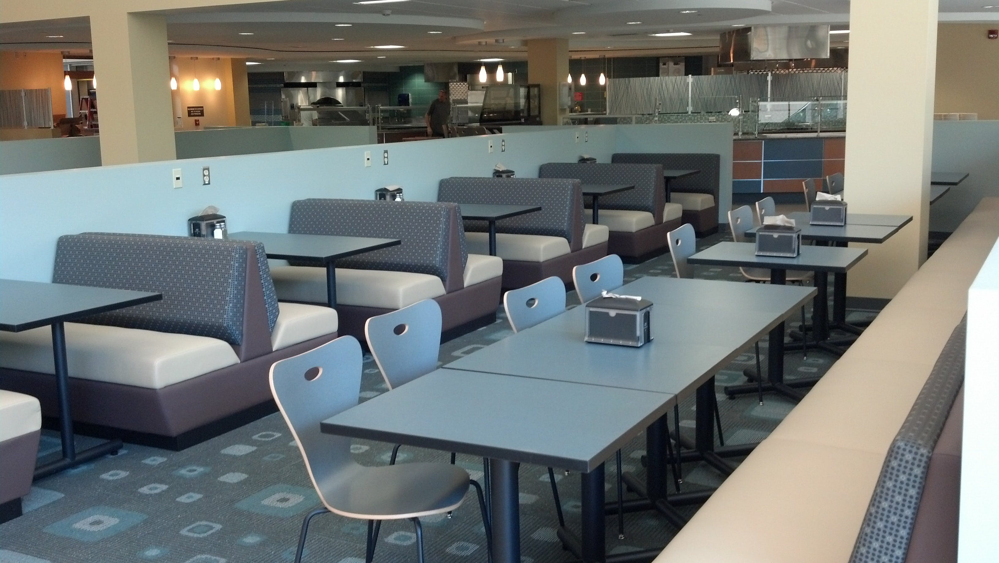 Suny It Dining Hall Roxanne Button Archinect