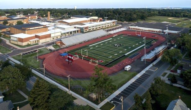East Aurora High School Expansion and Renovation: Cordogan Clark & Associates Architects