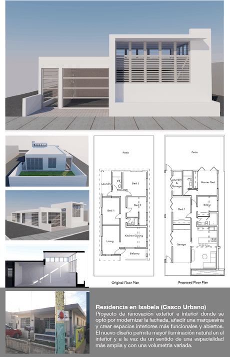 Proposal for house renovation