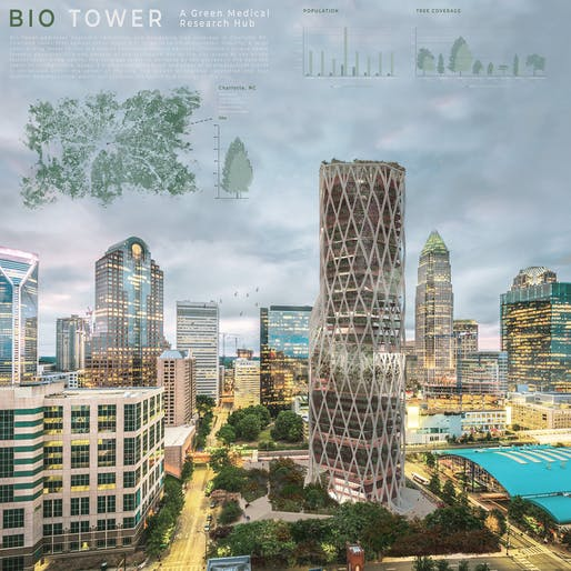 ​BIO TOWER A Green Medical Research Hub by Sophia Bullock, Drake Cecil, and Alex King