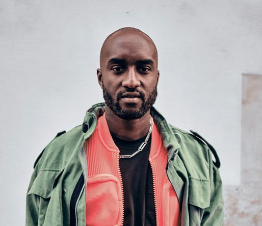 Virgil Abloh at Paris Fashion Week 2019