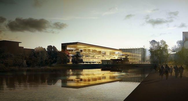 Exterior rendering (Image: AAKAA & MARS Architectes)