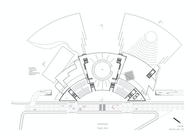 Plan, level 10 (Image: Architecton)