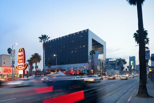 2015 AIA TAP Innovation Awards | Stellar Architecture category winner - Emerson College Los Angeles by Morphosis Architects. Photo courtesy of 2015 AIA Tap Innovation Awards Program.