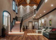 3d Visualization for the house interior of 'Dream-wood Villas' in Albuquerque