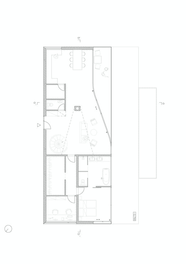 Ground Floor Plan Fránek architects