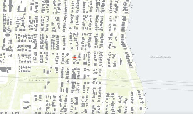 Mount Baker Alley (Wittman Estes) - Vicinity Map