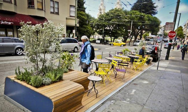 'Parking Day' in San Francisco (Photo courtesy Rebar)