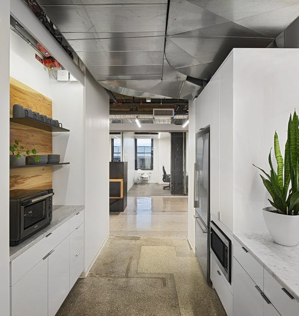 Galley kitchenette. Photo: John D'Angelo