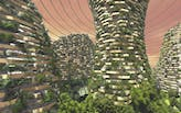 Stefano Boeri envisions Vertical Forest Seeds on Mars in Shanghai Urban Space Art Season 2017