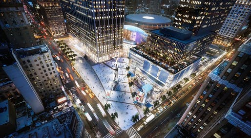 Penn Plaza Master Plan Image © Kenneth Park Architects