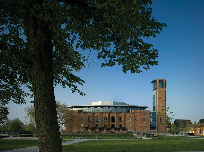 Shortlisted: Royal Shakespeare Theatre, Stratford, UK by Bennetts Associates (Photo: Peter Cook)