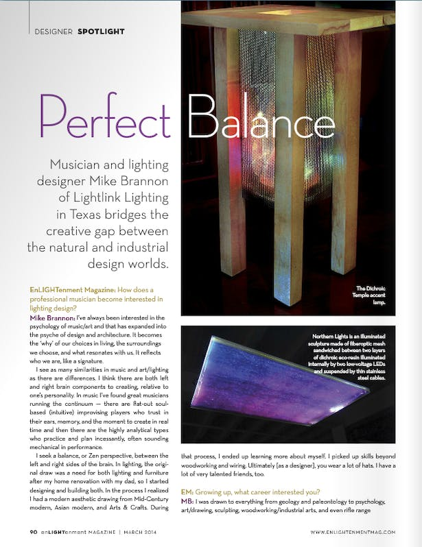 EnLIGHTenment Mag - March 2014