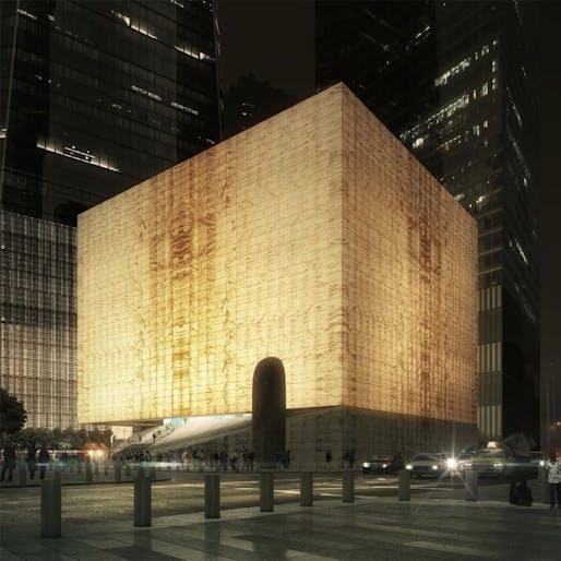 REX's Perelman Performing Arts Center at the World Trade Center. Image © Luxigon.
