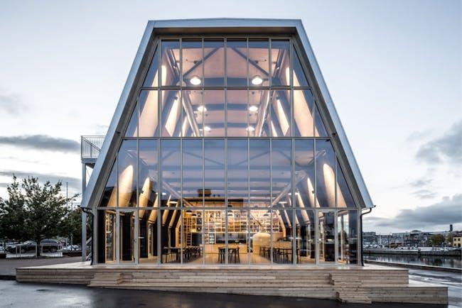 a new taphouse by ADEPT - photo by Rasmus Hjortshøj Coast Studio