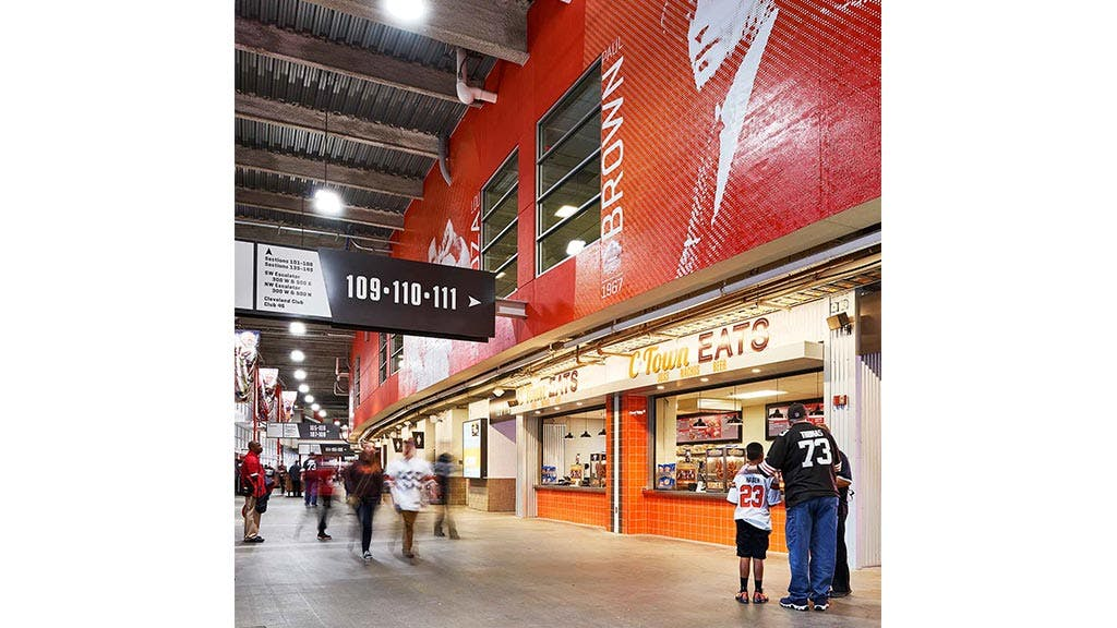 Cleveland Auto Mall >> First Energy Stadium Renovation | Erin Williams | Archinect