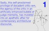 Cross-Talk #5: 'Decadent Critic(sch)ism, Words for Fingers' by Clemens Finkelstein
