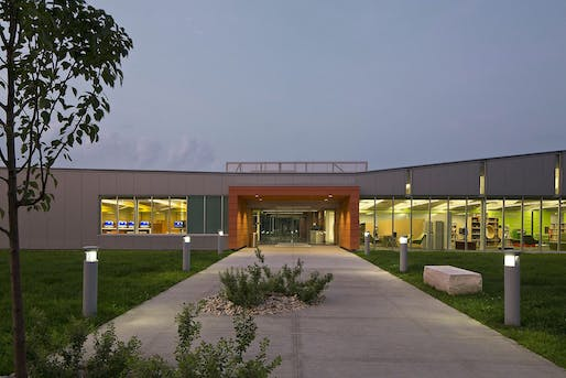 Honor Award Winner. Columbus Metropolitan Library, Whitehall Branch Library, designed by Jonathan Barnes Architecture and Design.