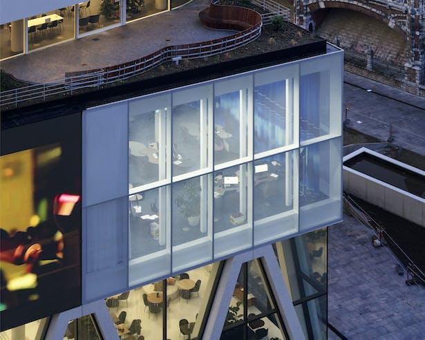 HQ DPG MEDIA by Binst Architects. © Frank van der Salm
