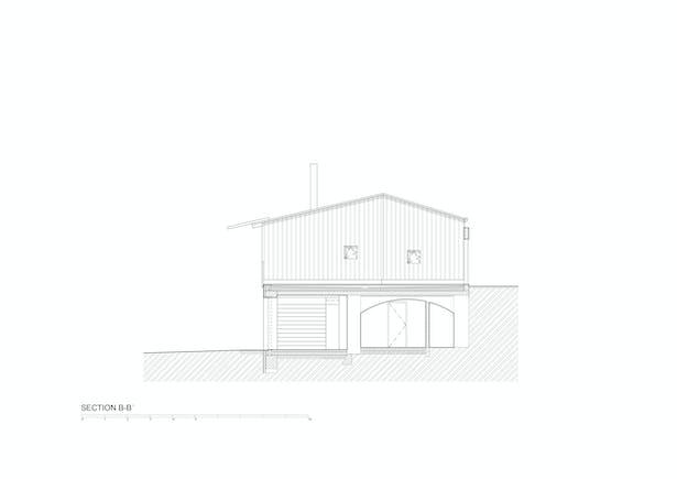 Section B-B © Mjölk architekti