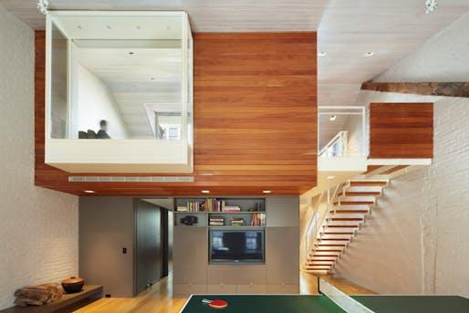 Brooklyn Heights Residence townhouse by Joseph Vance Architects. Photo © Makiko Kikuyama, courtesy Joseph Vance Architects