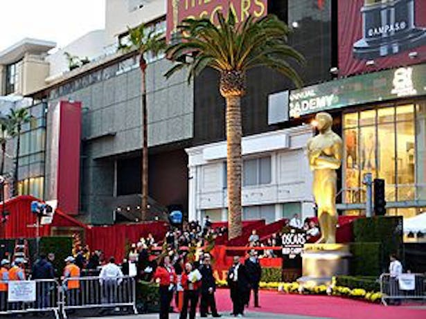 The Dolby Theater side fields
