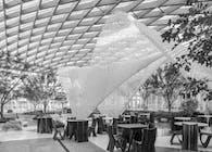 3D Robotic Printed Service Pavilion