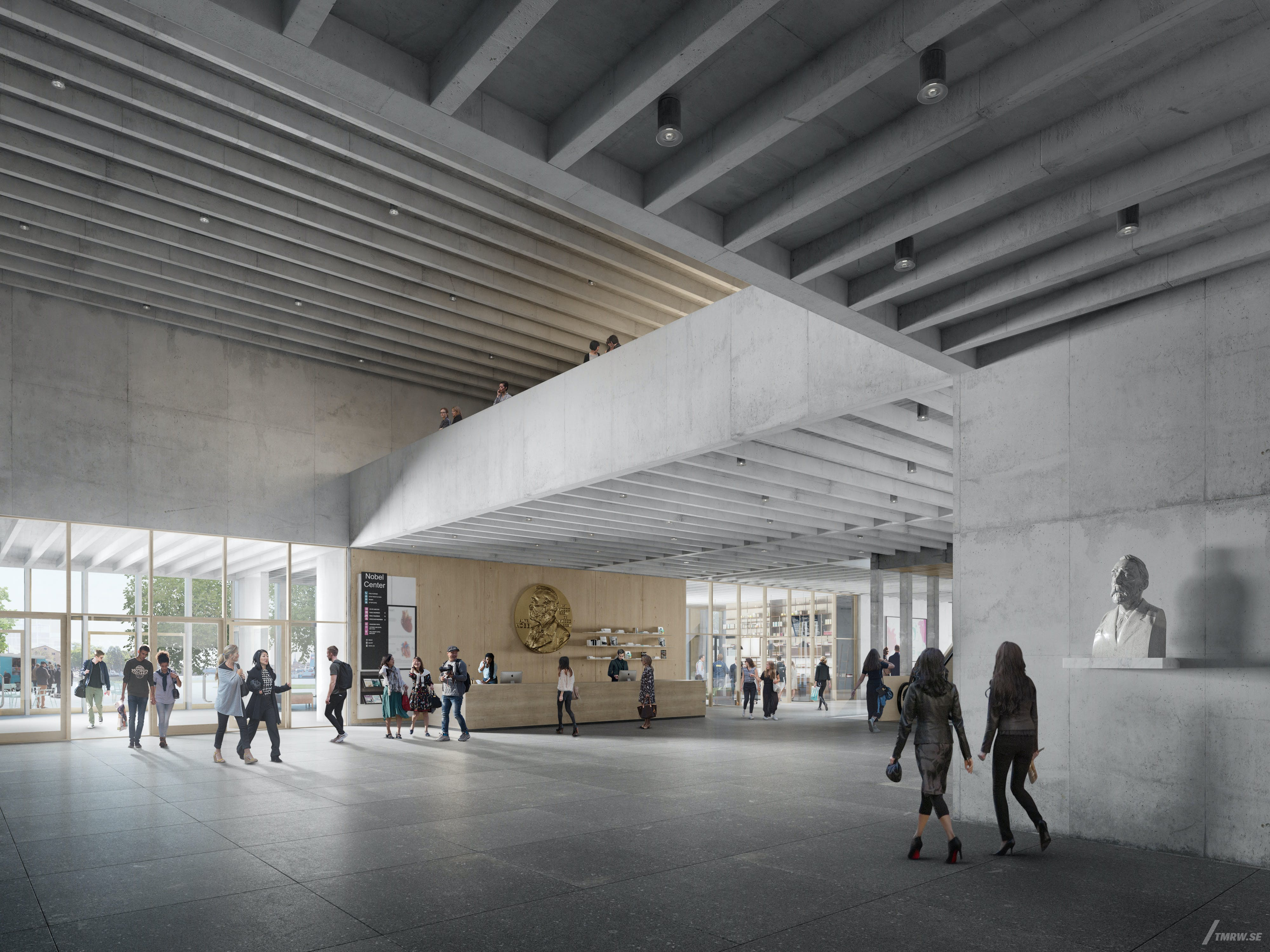 David Chipperfield Architects Finalizes Its Nobel Center Interior Design News Archinect