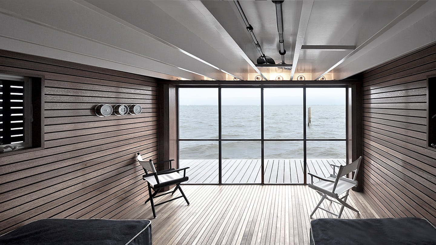 Bay view boathouse martin architects pc archinect for Martin architects