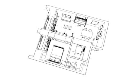 Apartment Renovation - Schematic Design Phase