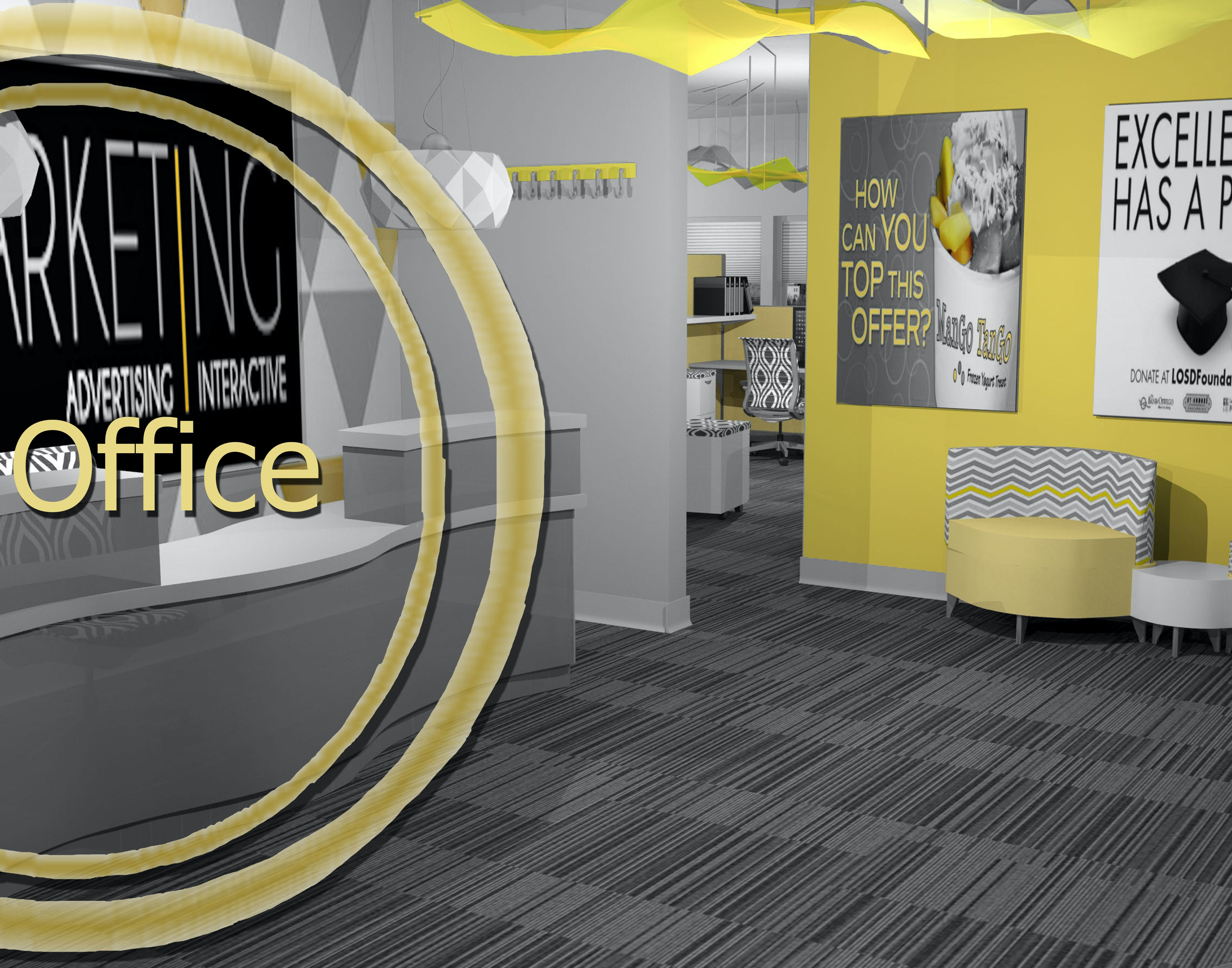 Small ad agency office design kristen nicolais archinect - Interior design job advertisements ...