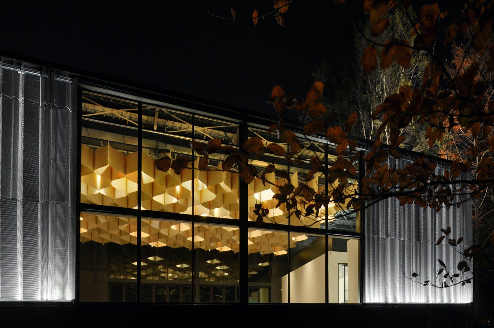 Knoxville Botanical Garden & Arboretum Visitor Pavilion   De Leon ...