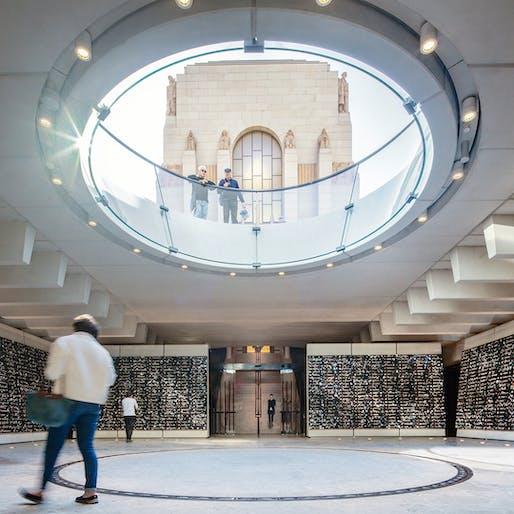 The Sir Zelman Cowen Award for Public Architecture (joint winner): Anzac Memorial Centenary Extension, Johnson Pilton Walker with the NSW Government Architect, NSW. Photo: Brett Boardman.
