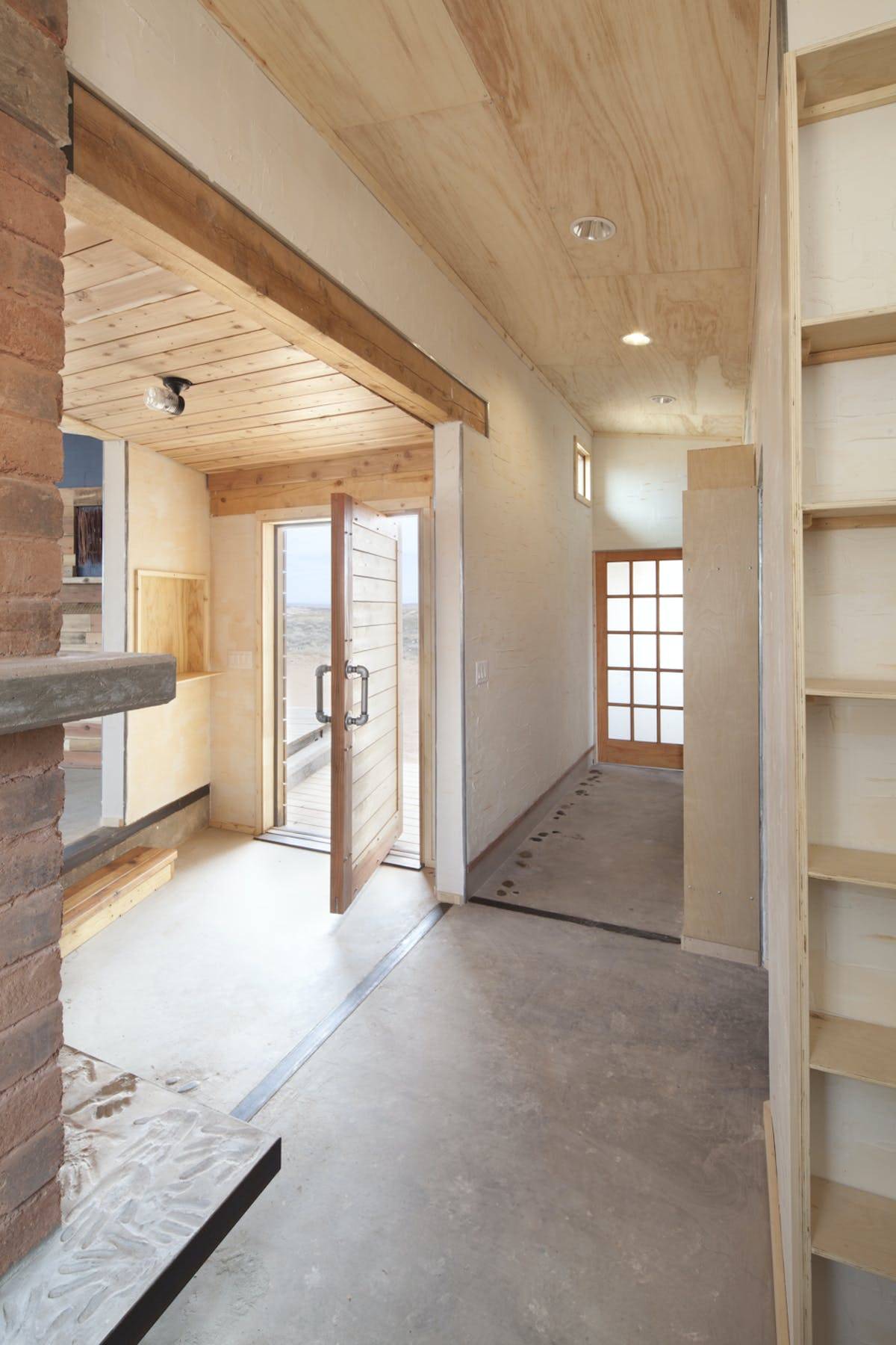 Windcatcher House Joshua Paulsen Archinect